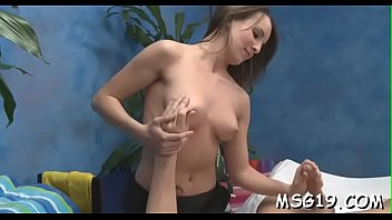 tasty blond girl gets her pussy screwed on.