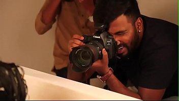 hot bath tub photo session of.