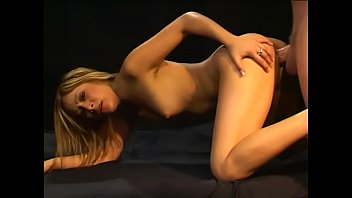 cute latin girl jumps into the sack with.