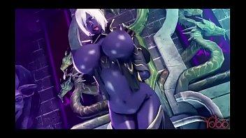 darkelf with huge tits hardcore fuck