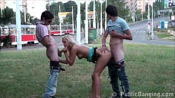 shamefull public teens group street orgy gangbang in.