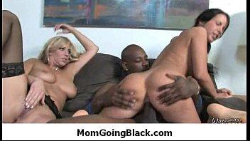my mom rides huge black cock.