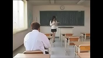 japanese big tits sora aoi teaches sex lessons.