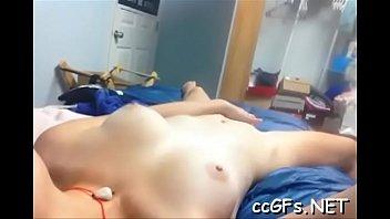 college girl adores oral sex games