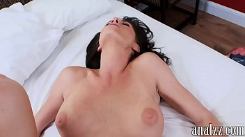 hot busty milf analed while being.