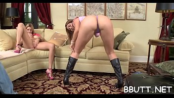 breathtaking bitch with great oiled ass gets her.