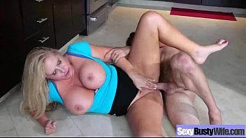 (karen fisher) mature busty wife in hard sex.