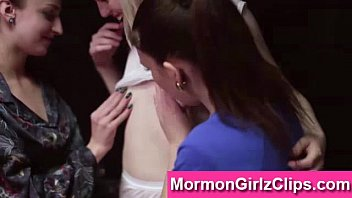 lesbian threesome for mormon girls in.
