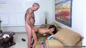 daddy spanks and fucks chum&#039_ associate&#039_s daughter poping pils!