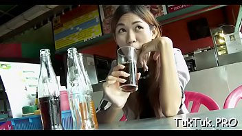 insane dude picks up a thai slut and.