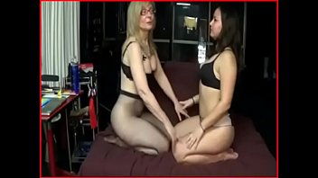 milf stepmom gives a spanking?! lesbian?!?! see part.