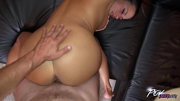 anal queen mea melone squirting when fucked on.