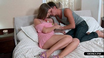 horny schoolgirl gets her panties wet
