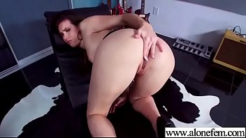 (casey calvert) lovely girl on tape masturbates with.