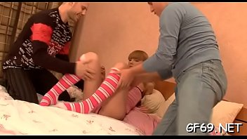 gorgeous darling receives hardcore drilling from.