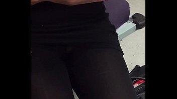pantyhose rub