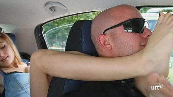 brat car- italian girl foot smothering.