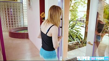 blondie and petite ariel skye gets disappointed and.
