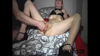 double fisting her insatiable loose pussy