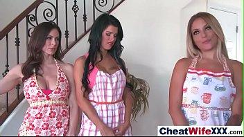 (kendra kissa peta) naughty wife cheating in front.