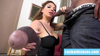 black monster cock worship by white.
