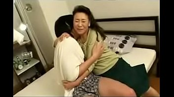 japanese asian mature mom loves her sons dick.