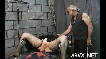older spanked on livecam