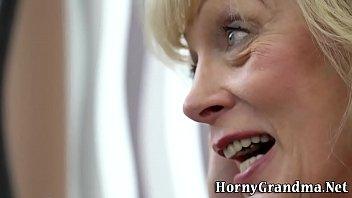 mature granny creampied
