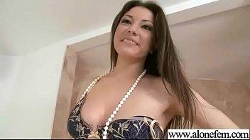 freak real alone hot girl (alexis rodriguez) masturbates.
