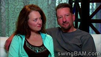 milf and husband get interviewed by a xxx.