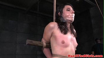 small titted skank pussy roughly punished