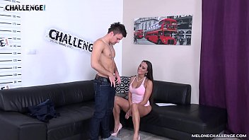 mea melone let failed dude cum on her.