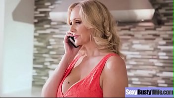 (julia ann) busty sexy housewife in hardcore sex.