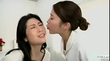 japanese lesbian erotic spitting massage clinic.