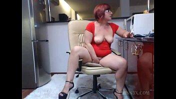 red head mature big ass show