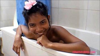 hd thai teen heather deep gives deepthroat and.
