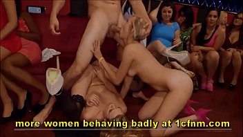 naughty girls suck male strippers at.