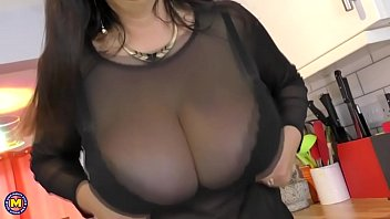 european housewife lulu with huge natural.