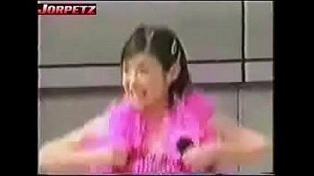 nipple slip - asian girl dancing