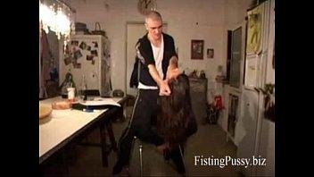german girl fisted hard by boyfriend,.