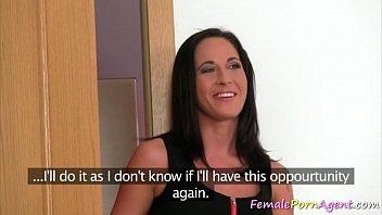 porn agent seduces&nbsp_slut into working for.