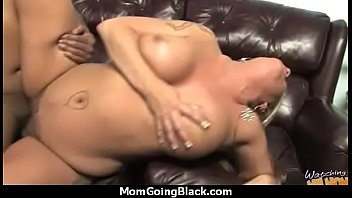 mature lady in interracial amateur video.