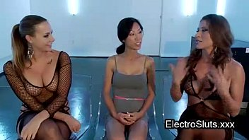shackled wired asian ass fisted in.