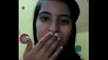desi indian teen girl making video for boyfriend.