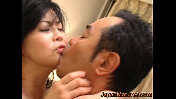 horny japanese mature babes sucking
