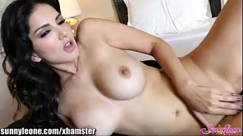 sunnyleone wild stripping in her bedroom