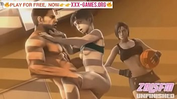 crazy cowgirl in best porn game!