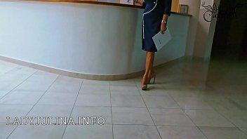 office domina high heels nylonstr&uuml_mpfe vorstellungsgespr&auml_ch.
