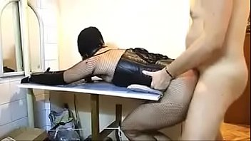 amateur hooded bdsm girl slapped and fucked - 2