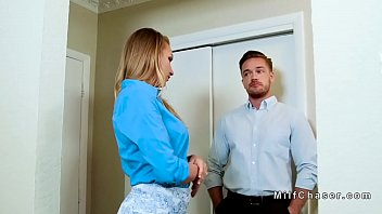 real estate milf agent bangs client
